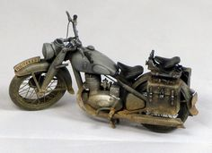 Motorcycle. (Model cars, plastic models)