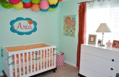 Aria's Bright & Modern Nursery - Project Nursery