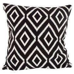 black + white pillow on joss + main