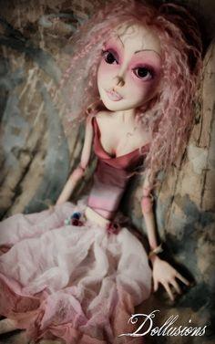 OOAK Art Doll Fairy Princess Lady Azelea by SweetDollusions, $470.00