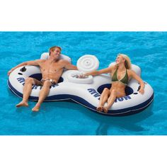 Overton's : River Run II With Cooler - Watersports > Lake & Pool Leisure > Floats & Lounges : Swimming Pool Lounges, Pool Floats, Pool Chairs, Rafts