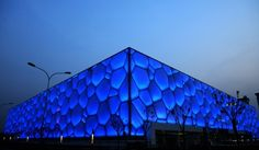"Beijing the ""water cube"""
