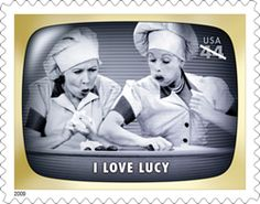 I love Lucy US Postage Stamp