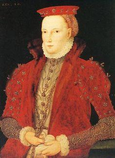 """1563_Queen Elizabeth I of England """"Gripsholms Portrait""""  Artist: Unknown."""