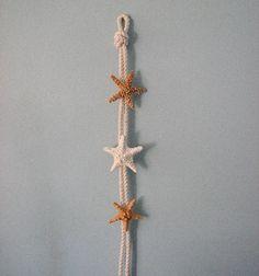 starfish garland, shell garland, seashell garland, star fish garland, white starfish, starfish, beach decor, nautical decor, nautical garland