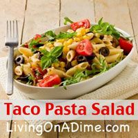 Taco Pasta Salad Recipe And Easy Menu