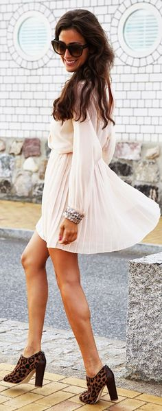 Asos Nude Flowy Accordion Pleat Skirt Wrap Chiffon Mini Dress