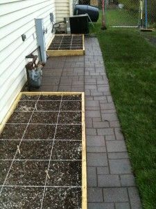 blog about square foot gardening