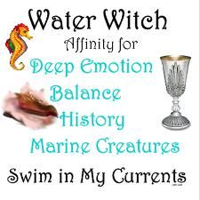 Elements Water:  Water Witch.