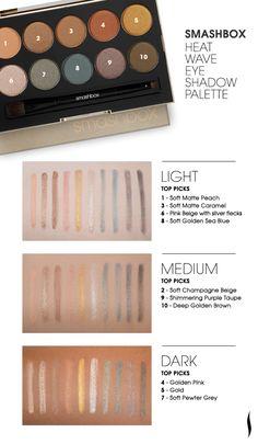 Smashbox Heat Wave Eye Shadow Palette #Sephora #eyecandy