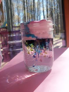 Cloud in a Jar - Preschool Science