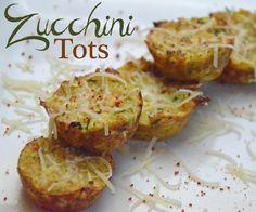Zucchini Tater Tots