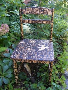 whimsical garden chair!
