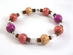 Memorial Bead Bracelet, Margo Style, Elastic