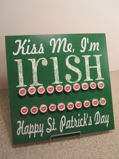 How to make a count down to St. Patrick's Day board. Found via TipJunkie.com