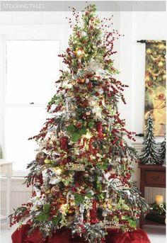 Stocking Tales Christmas tree