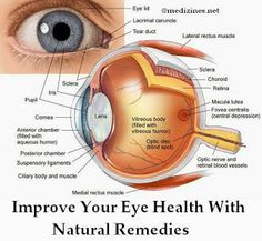 Improve Your Eye Health With Natural Remedies