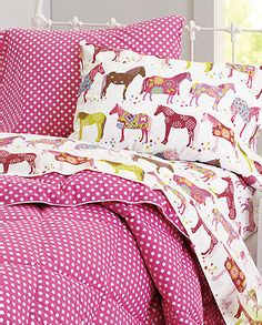 I want to be sad and have horsey bedding