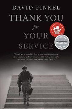 Thank You For Your Service by David Finkel. #NYSWInst #DavidFinkel