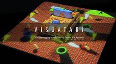 VISUATARI - 3d Videomapping installation by Tonner Vi.