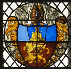Lincoln Cathedral, sXLVI, Armorial panel, probably by William Peckitt by gordonplumb, via Flickr