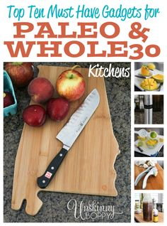 Must Have Kitchen gadgets for Whole30