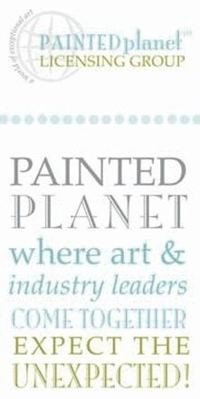 ABOUT... Painted Planet Licensing Group has over 20 years of experience building long term partnerships with artists. We represent 21 dynamic artists in the art licensing world. It's a new world and new describes the creative work of these artists that includes vast collections of unique designs.