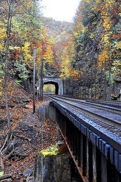 train bridges, west virginiawild, railroad, mcdowel counti, beauti, place, big, wonder west