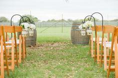 Multicolored Texas Winery Wedding  Wedding Real Weddings Photos on WeddingWire