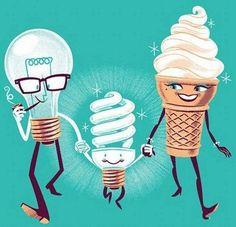 How the mini fluorescent light bulb was born.