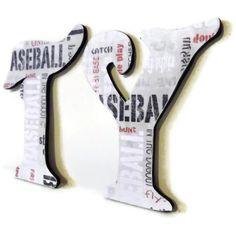 Custom Baseball Name Letters