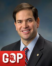 U.S. SENATOR FLORIDA (AGE 41): Marco Rubio carries great momentum with him as he plays his tea party, and Hispanic and youthfulness card. He was selected to give a response to Presiden't Obama's State of the Union adress, which all but indicates his party's willingness to stand behind him.