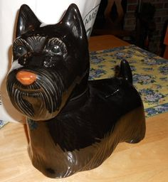 Vintage Scottie Cookie Jar