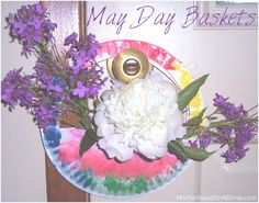 May Day Basket (Preschool or Early Elementary)