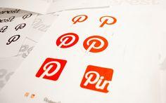 http://pinterestbutton.biz Working on logo design - Custom Logotype for Pinterest - designed by Juan Carlos Pagan and Mike Deal Fancy