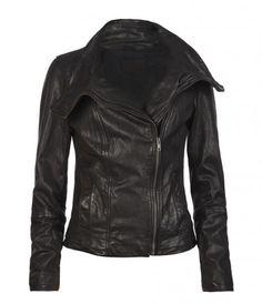 new leather jacket!