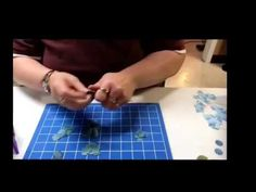 Card Making: Spellbinders Create A Rose Demo