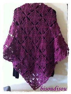 poncho, shel stuff, beauti shawl, yarn, crochet shawl