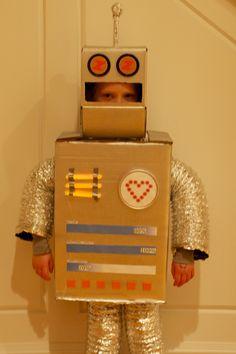 robot costume on pinterest. Black Bedroom Furniture Sets. Home Design Ideas