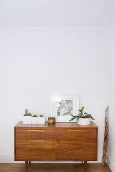 // plant, dresser styling