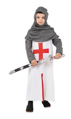 Disfraz de cruzado para niño #medieval