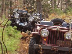 Hitting the trails Old School. www.talkingjeepoz.com