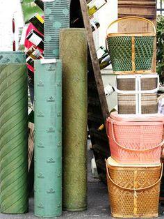flea markets, picnic baskets