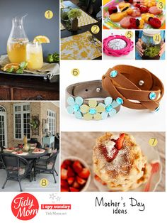 8 Mother's Day Ideas at TidyMom.net