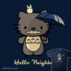 Hello Neighbor - Hello Kitty + My Neighbor Totoro mashup #HelloKitty