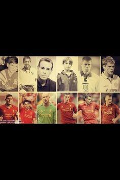 When They Were Young - Steven Gerrard, Luis Suarez, Pepe Reina, Daniel Agger, Jamie Carragher & Martin Skrtel