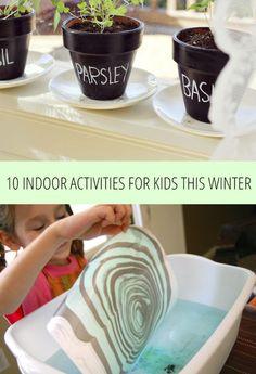 10 Indoor Activities For Kids This Winter | Babble