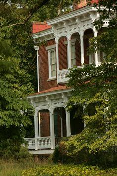 Bonar Hall, Madison, Georgia built before the Civil War