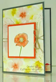 Happy Watercolor Card
