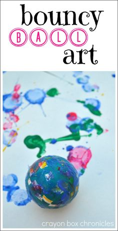 Fun art for kids that will get them moving